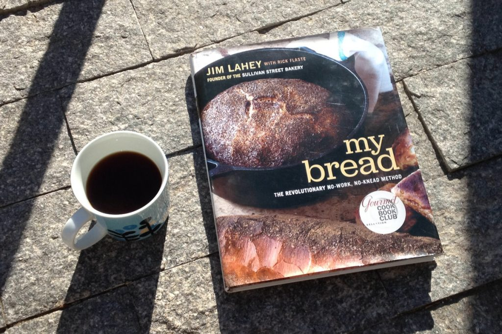 """Jim Lahey's book """"My Bread"""" that contains Jim's'no-knead' method of bread making used for the bread in this blog post"""