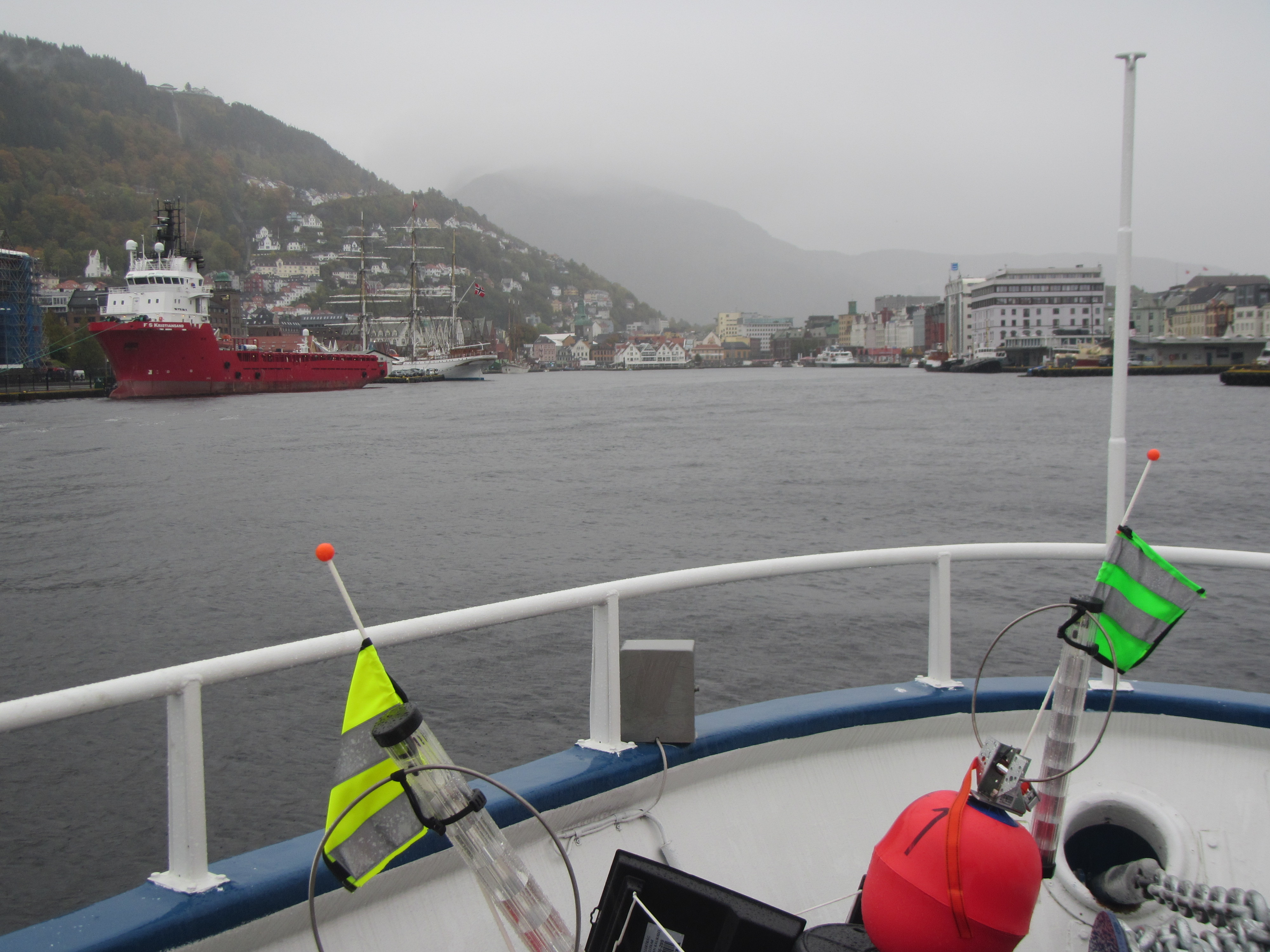 The drifters coming home to the port of Bergen